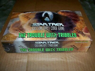Star Trek CCG The Trouble with Tribbles Booster Box 30-11 card packs FactorySeal