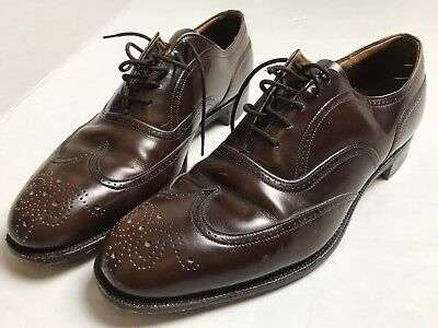 CHURCH'S Custom Grade Cognac Leather Men's Shoes UK 7  U.S. 7.5