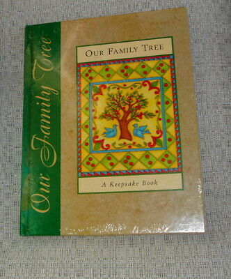 New and Factory Sealed - Our Family Tree A Keepsake Book by New Seasons