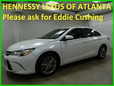 2017 Toyota Camry XLE 2017 SE Used 2.5L I4 16V Automatic FWD Sedan One owner Clean Carfax Serviced