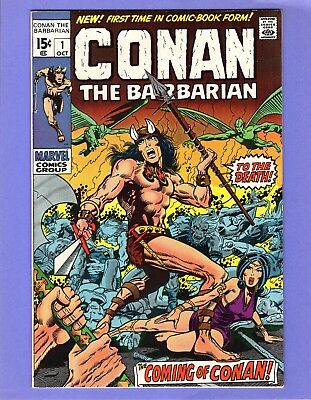 Conan the Barbarian #1  --  1st Issue - Barry Smith art!  -- --  VF+  cond.