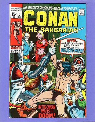 Conan the Barbarian #2  --   Barry Smith art!  -- --  VF  cond.