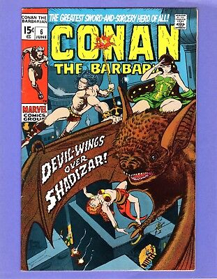 Conan the Barbarian #6 --   Barry Smith   -- --  VF/NM  cond.