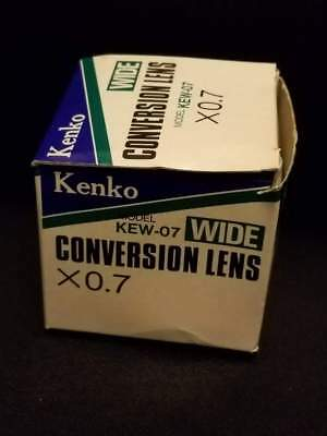Kenko 0.7X Wide Angle Conversion Lens KEW 07  NEW!