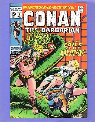 Conan the Barbarian #7 --   Barry Smith   -- --  NM-  cond.