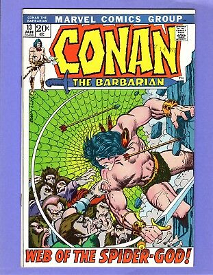 Conan the Barbarian #13  --   Barry Smith - Spider-God   -- --  VF/NM  cond.