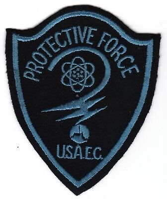 1950s FELT UNITED STATES ATOMIC ENERGY COMMISSION (USAEC) PROTECTIVE FORCE PATCH