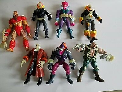 Toy Biz Marvel Ghost Rider Action Figures 1995 Vintage Series 1&2 Loose Lot
