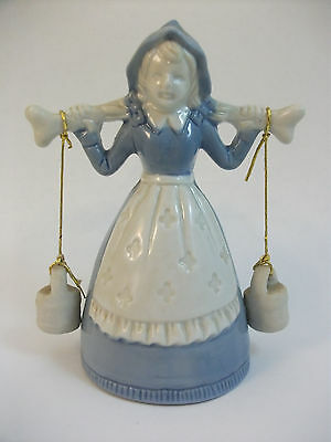 Pioneer Water Girl Collectible Porcelain Bell,  Price Products Import, Taiwan