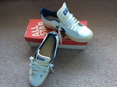 Vintage New Old Stock Converse 1-9764 All Star Basketball Men's Pro Oxford Shoe