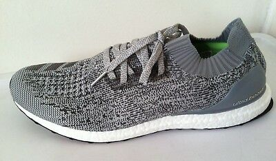 07e8eedfe Adidas Ultra Boost Uncaged Grey Charcoal BB3898 SZ 15 nmd prime knit pk rf  NWOBX