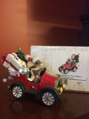 CHARMING TAILS - Christmas- HEADIN' HOME FOR THE HOLIDAYS 87/152