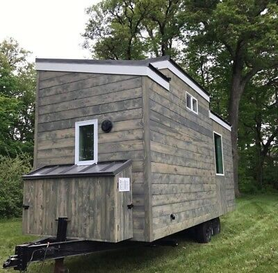New Tiny Home 8'x20' 240 sq ft Lots of Nice features! Loft Sleeping