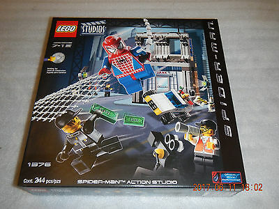 Lego Studios Spider-Man Action Studio (1376) New Factory Sealed Box