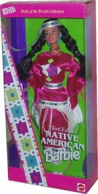 Native American Barbie - Third Edition - Dolls of the World Collection