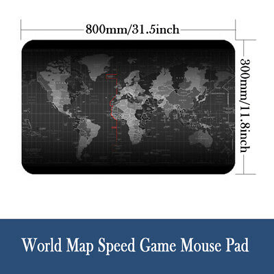 Large Size 900*400 World Map Speed Game Mouse Pad Mat Laptop Gaming Mousepad X2W