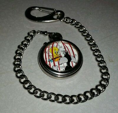 Brand New Looney Tunes Musical Pocket Watch Sylvester Tweety Bird Armitron Bugs