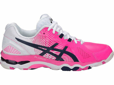 SAVE $$$ Asics Gel Netburner Super 8 Womens Netball Shoes (B) (2049)