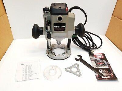 Porter Cable Model 7529 Heavy Duty Variable Speed Plunge Router 10000-23000 rpm