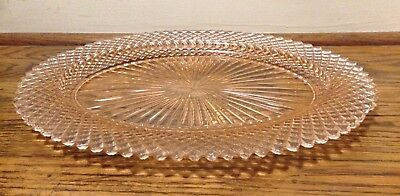 Pink Depression Glass Platter Miss America Anchor Hocking Large 12 x 9