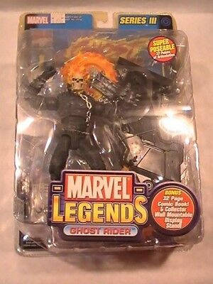 Marvel Legends Ghost Rider Series III 3 Action Figure 2002 ToyBiz  NIB