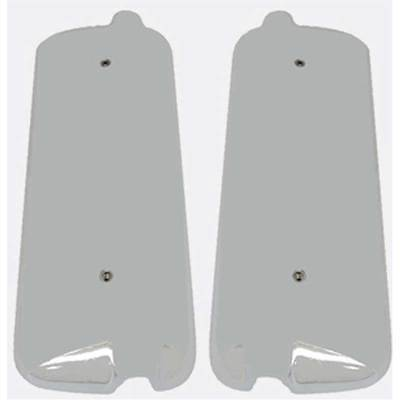 Pair Mirror Cover Side View Chrome For 1996-2004 Freightliner Century Columbia
