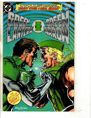 Lot Of 7 Green Lantern Green Arrow DC Comic Books # 1 2 3 4 5 6 7 Reprints CR12