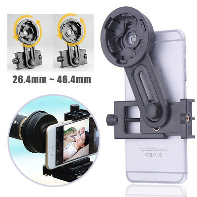 Universal Cell Phone Adapter Mount Holder Telescope Monocular For iPhone Samsung