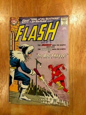 THE FLASH #114 (Aug 1960 DC) Captain Cold 1st appearance after Showcase #8!