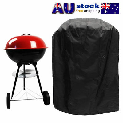 Waterproof Barbecue BBQ Cover Grill Outdoor Gas Dust Rain Protector Round 80*57.