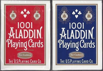 1001 Aladdin playing cards Cardistry AIR-CUSHION FINISH! (RED)