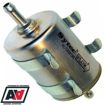 Universal Sytec Motorsport Fuel Injection Filter & Mounting Clips Inline 8mm ADV