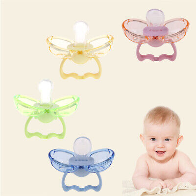 Baby Nipple Toddler Soother Teether Care Dustproof Silicone BPA Free Pacifier