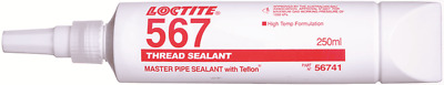 Loctite PST-567 MASTER PIPE THREAD SEALANT 250ml Prevents Galling & Leakage