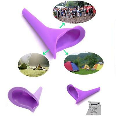Portable Women Urination Device Cup Stand Up Pee Port A Potty Urinal Travel Tool