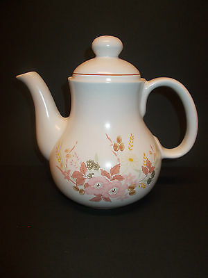 Hedge Rose Floral Design Teapot Coffee Pot by Boots - Lovely