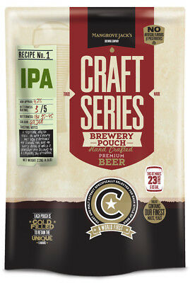 Mangrove Jack's Craft Series IPA Pouch No 1 - 2.5kg - Home Brew