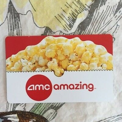 $15 AMC Theatres Gift Card- Can be used for Movies & Concessions