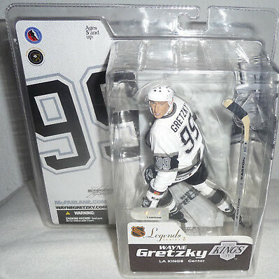 MCFARLANE NHL HOCKEY LEGENDS WAYNE GRETZKY Los Angeles Kings FIGURE SERIES 2