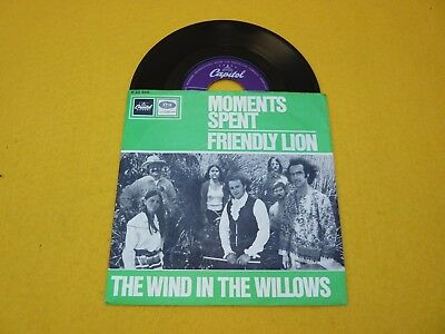 """The Wind In The Willows – Moments Spent (EX/EX++) ToP CoPy 1968 single 7""""  ç"""