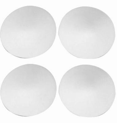 2 Pair Off White Round Removable Smart Cups Bra Inserts Pads For Swimwear Sports