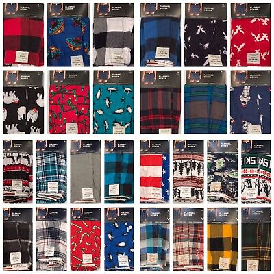 NWT AMERICAN EAGLE Men's Flannel Boxer Underwear XS-S-M-L-XL Many Colors/Prints