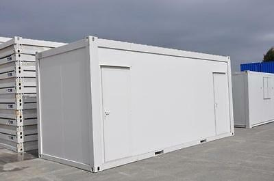 TF Jackson Portable Building New 20' x 8' - 3+1 Toilet Unit
