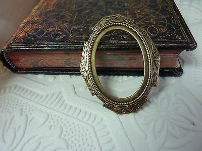 Brass stamped 1930s style frame to frame your honey's photo scrapbooking crafts