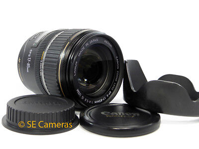 Canon Ef 17-85Mm F4-5.6 Is Usm Zoom Lens **mint Condition**