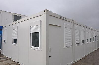 Portable Building New Modular Building 10 Bays 20' x 80' / 6m x 25m  Office