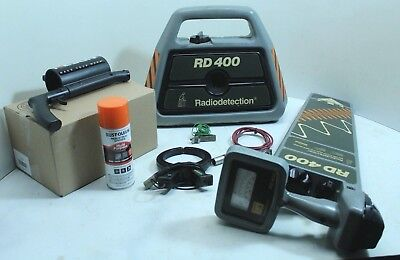 RADIODETECTION RD400 Cable Locator Set with Clamps
