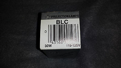 BLC 30W 115-125V  GE  Projection Lamp Projector Bulb