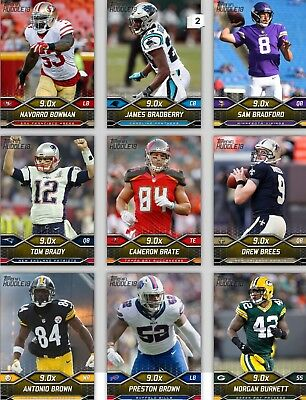 Topps Huddle Yellow Base Variant Pick The Player Digital Cards