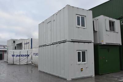 21′ x 8' Portable Buildings - Two Anti-Vandal Open Plan Offices